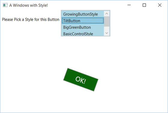 WPF Resources, Animations, Styles, and Templates   SpringerLink