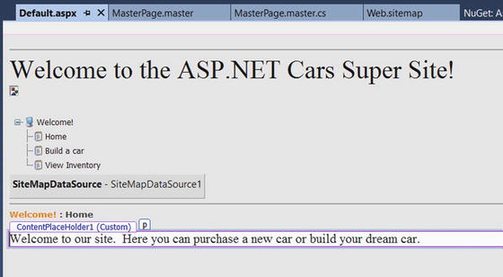 asp net web controls master pages and themes springerlink