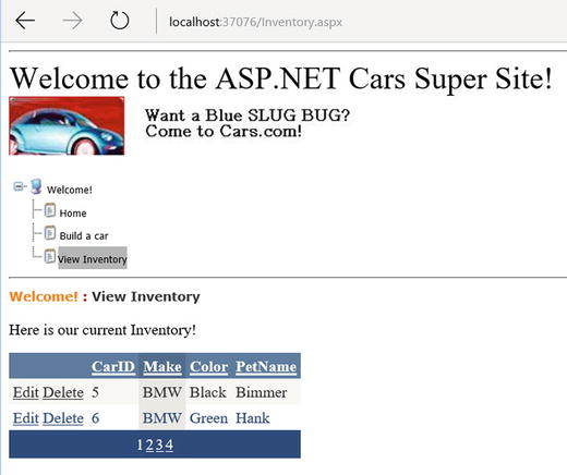 ASP NET Web Controls, Master Pages, and Themes | SpringerLink