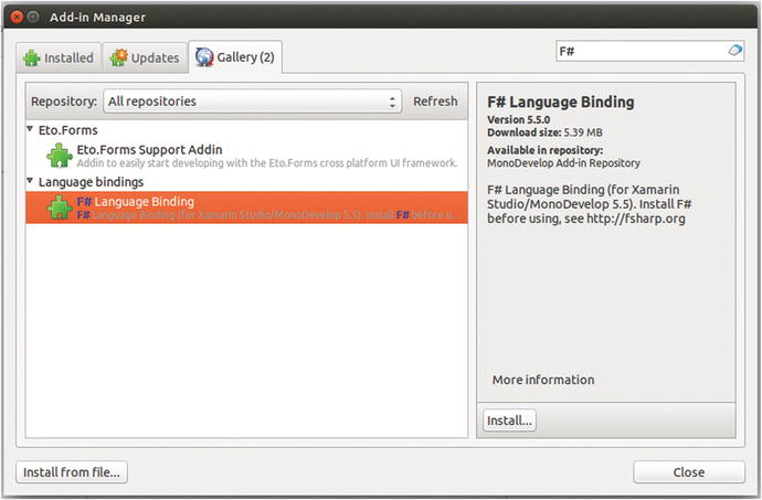 How to Obtain, Install, and Use F# | SpringerLink