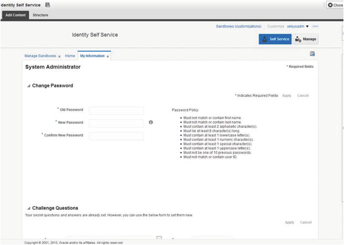 Oracle Identity Manager Forms and Customization | SpringerLink