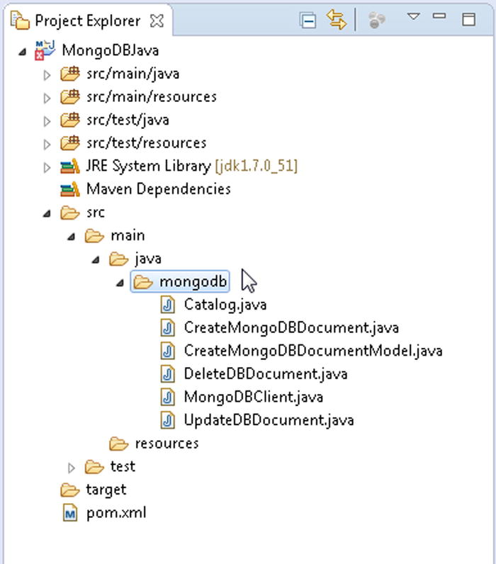 Using a Java Client with MongoDB | SpringerLink