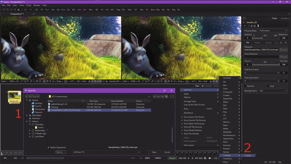 VFX Pipeline Pixel Tracking: Using Motion Tracking