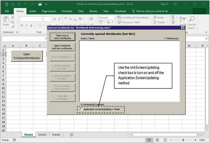 Programming the Microsoft Excel Workbook Object   SpringerLink