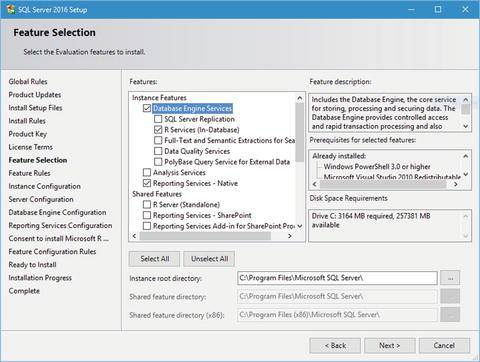 Setup and Installation of SQL Server 2016 | SpringerLink