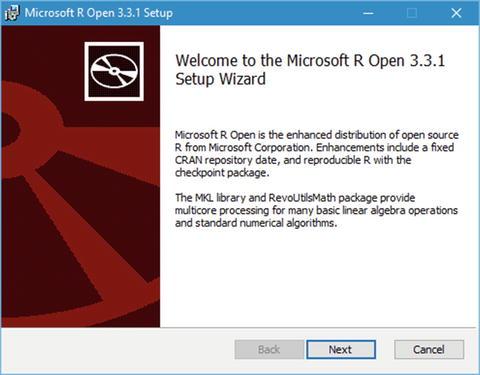 Setup and Installation of R Tools for Visual Studio