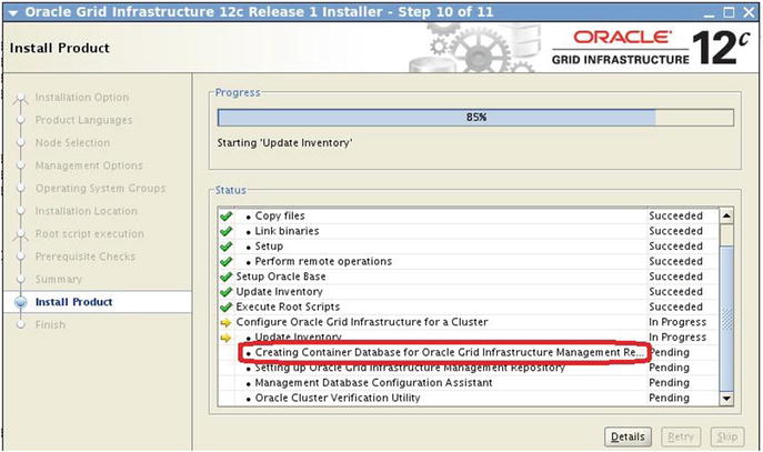 Ora cle GI and Ora cle 12 c Database Upgrades in RAC Environments