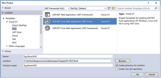 Introducing ASP NET Core MVC Web Applications | SpringerLink