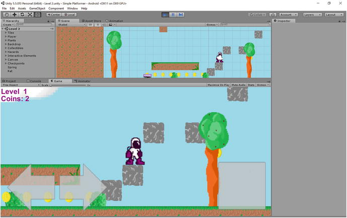 Adding More Game Elements: Springs, Moving Platforms, AI
