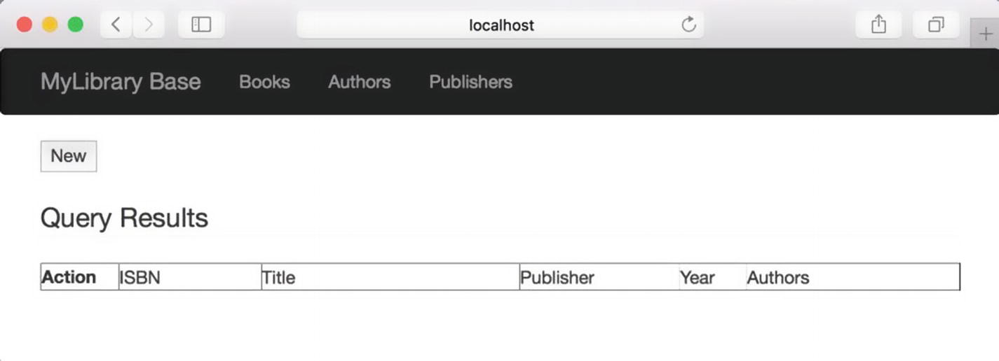 Library Application: User Interface | SpringerLink