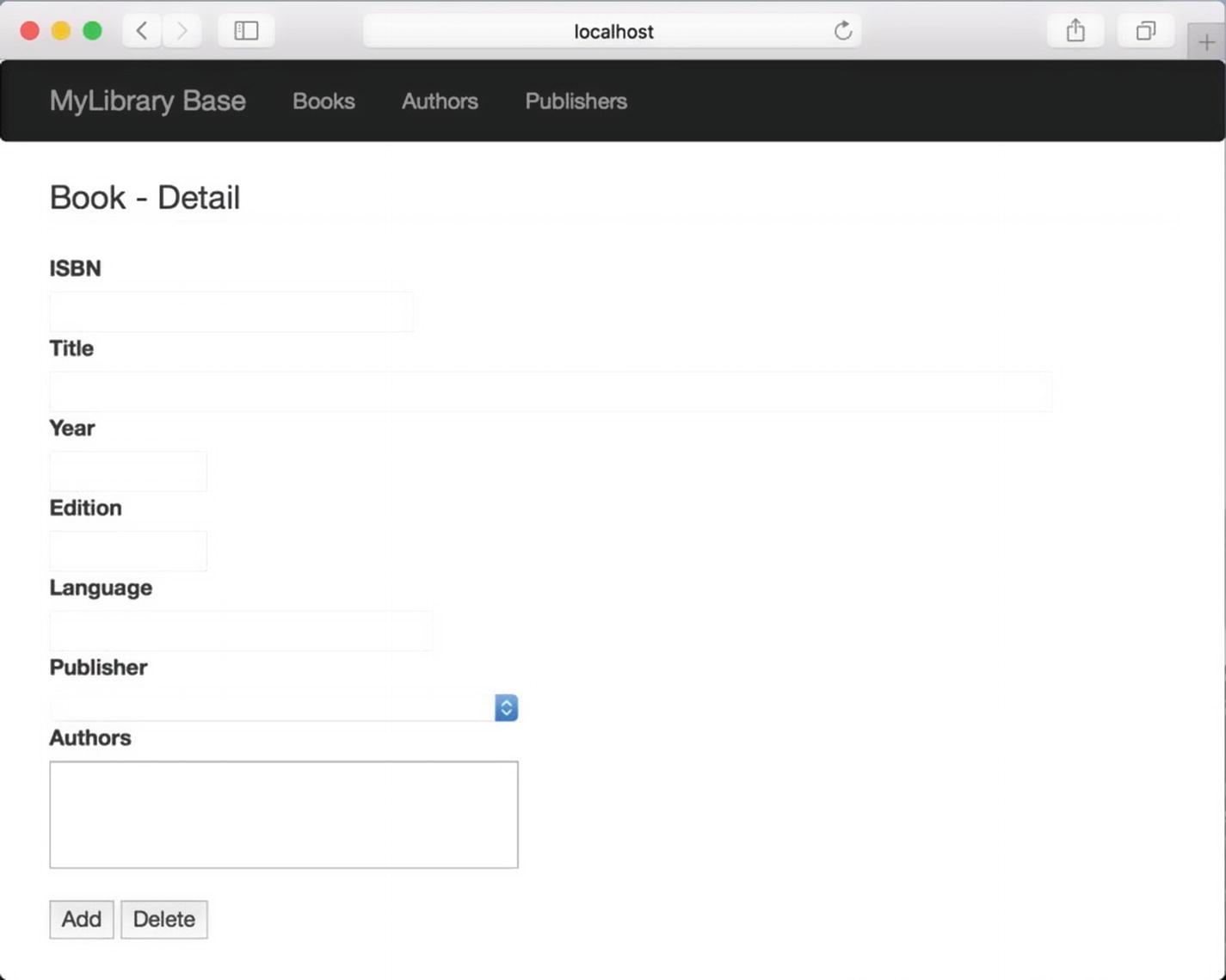 Library Application: User Interface   SpringerLink