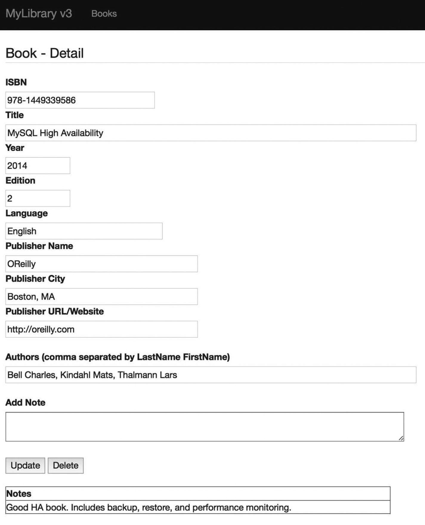 Library Application: Database Implementations | SpringerLink