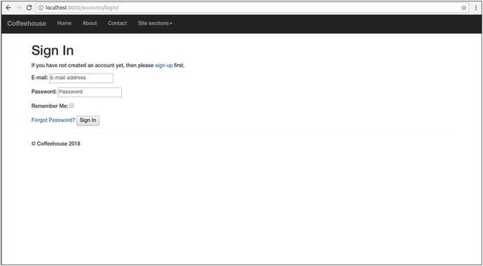 Django User Management | SpringerLink