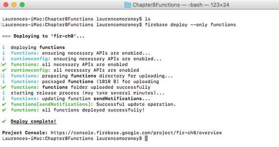 Cloud Functions for Firebase | SpringerLink