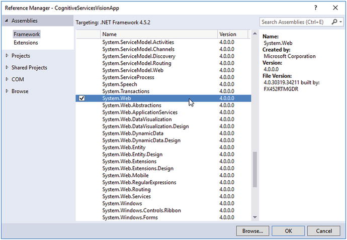 Creating an AI-Based Application in Visual Studio | SpringerLink