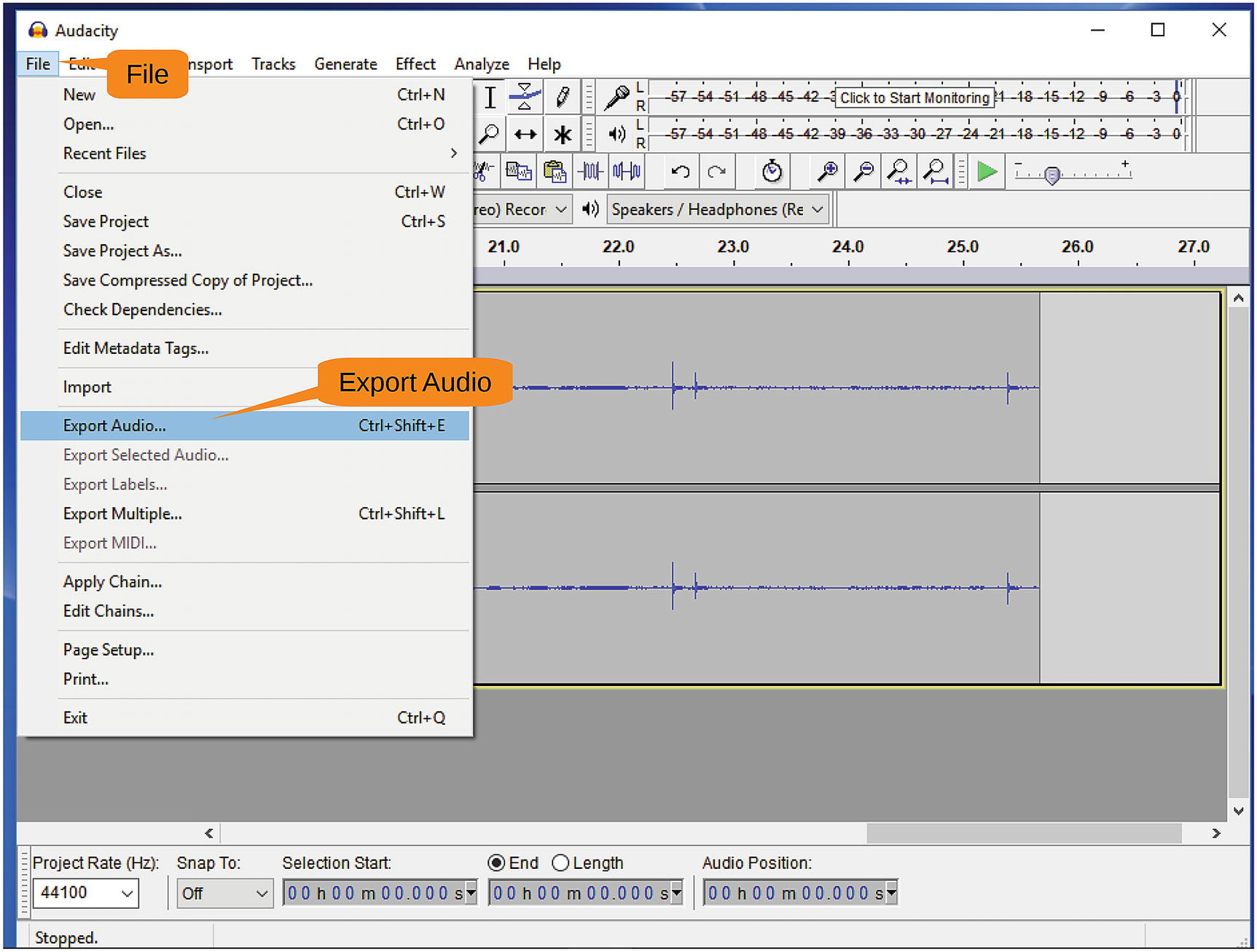 Editing Audio with Audacity | SpringerLink