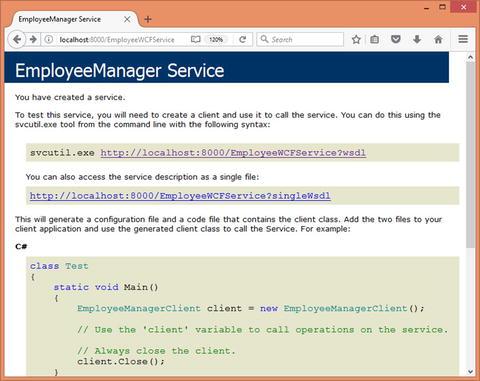 XML in WCF and Web API | SpringerLink