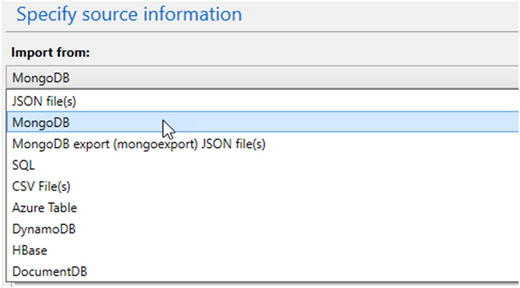 Importing Data into an Azure Cosmos DB Database   SpringerLink