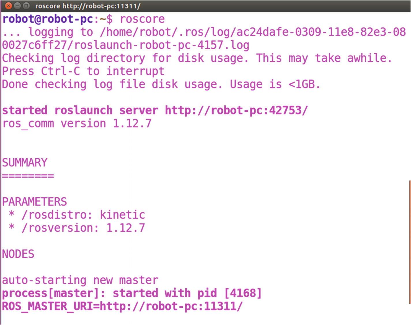 Kick-Starting Robot Programming Using ROS | SpringerLink