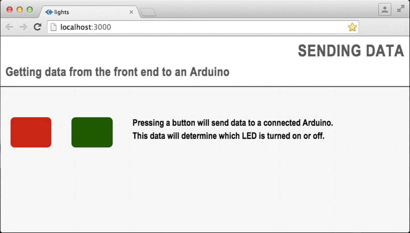 Front End to Arduino   SpringerLink