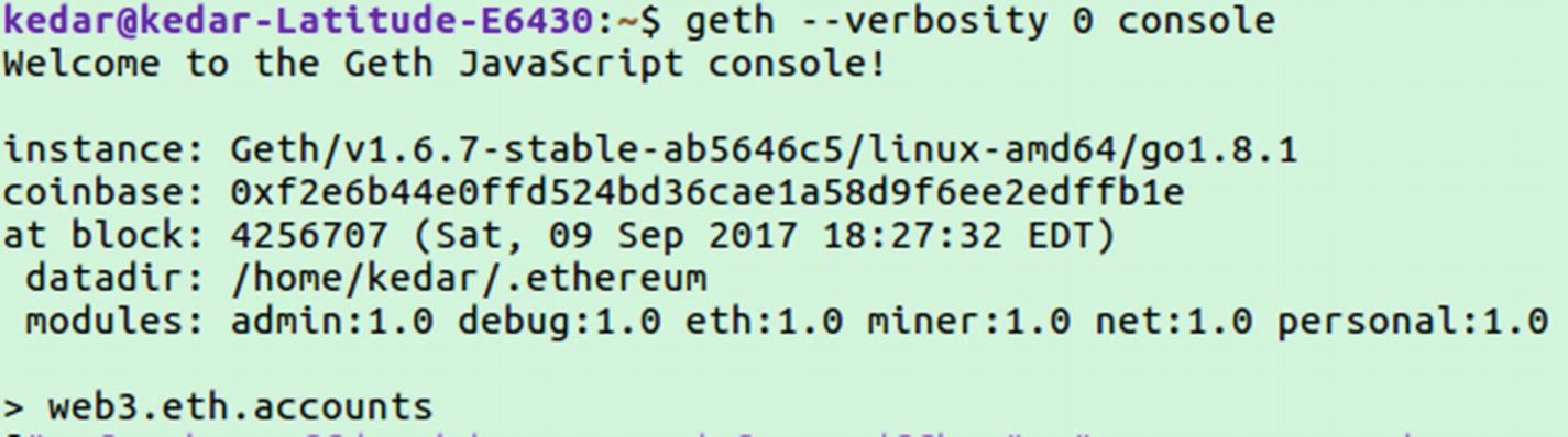 The Ethereum Development Environment | SpringerLink
