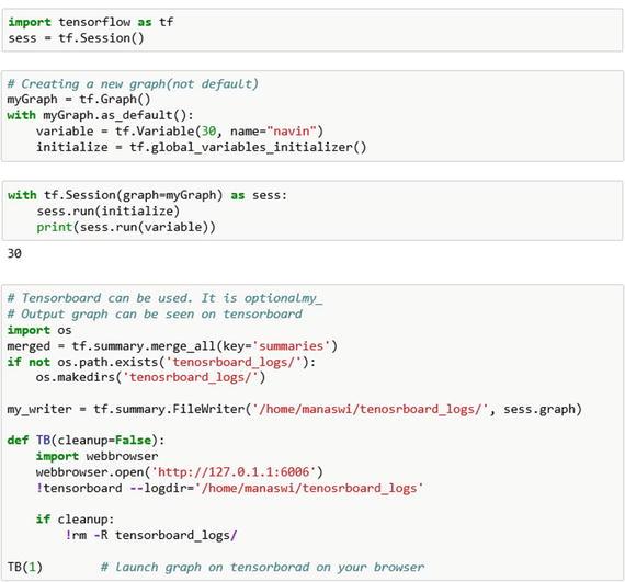Basics of TensorFlow | SpringerLink