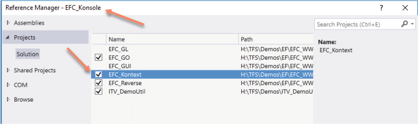 Installing Entity Framework Core | SpringerLink