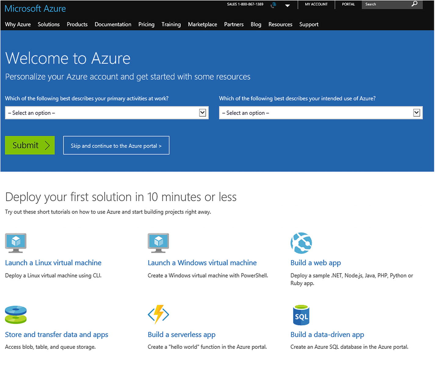 Introduction to Azure: A Developer's Perspective | SpringerLink
