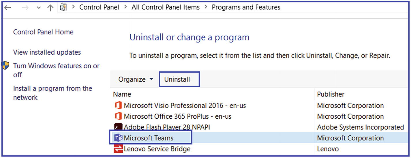 Microsoft Teams Troubleshooting | SpringerLink