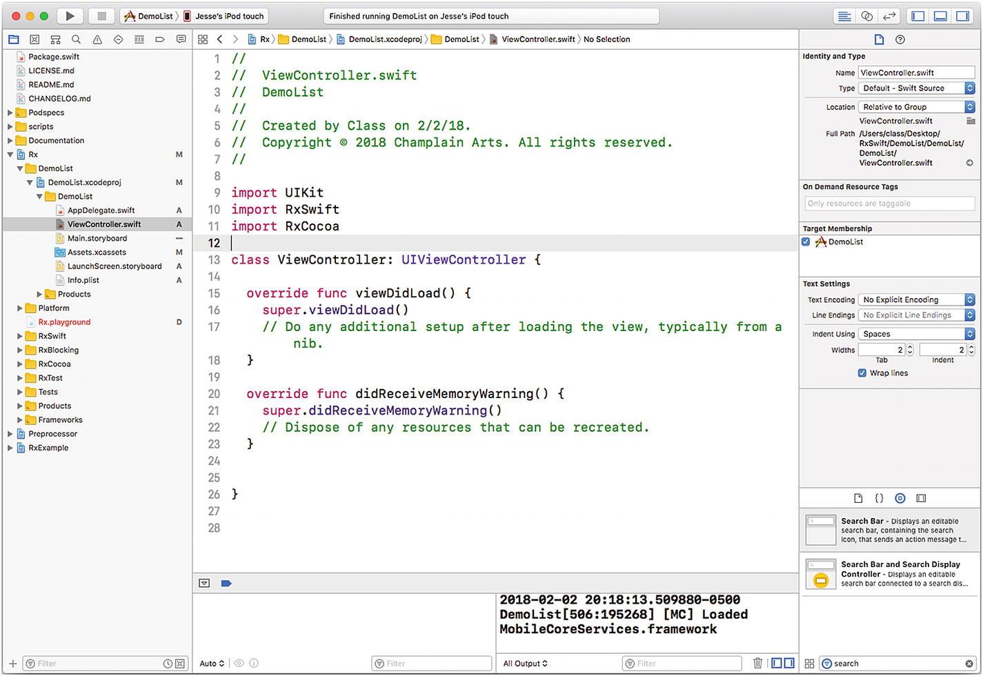 Build a ReactiveX/RxSwift App   SpringerLink