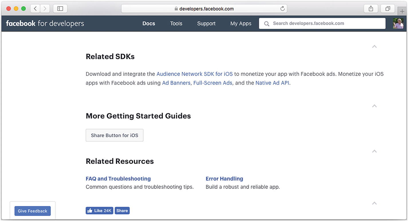 Setting Up a Facebook Account with iOS   SpringerLink