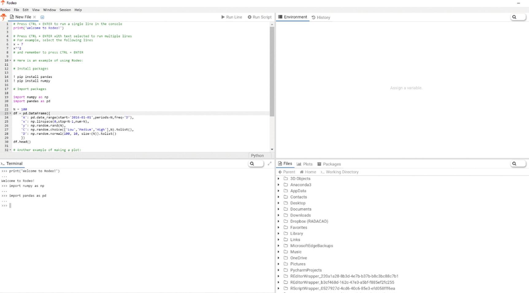 Introduction to Python | SpringerLink