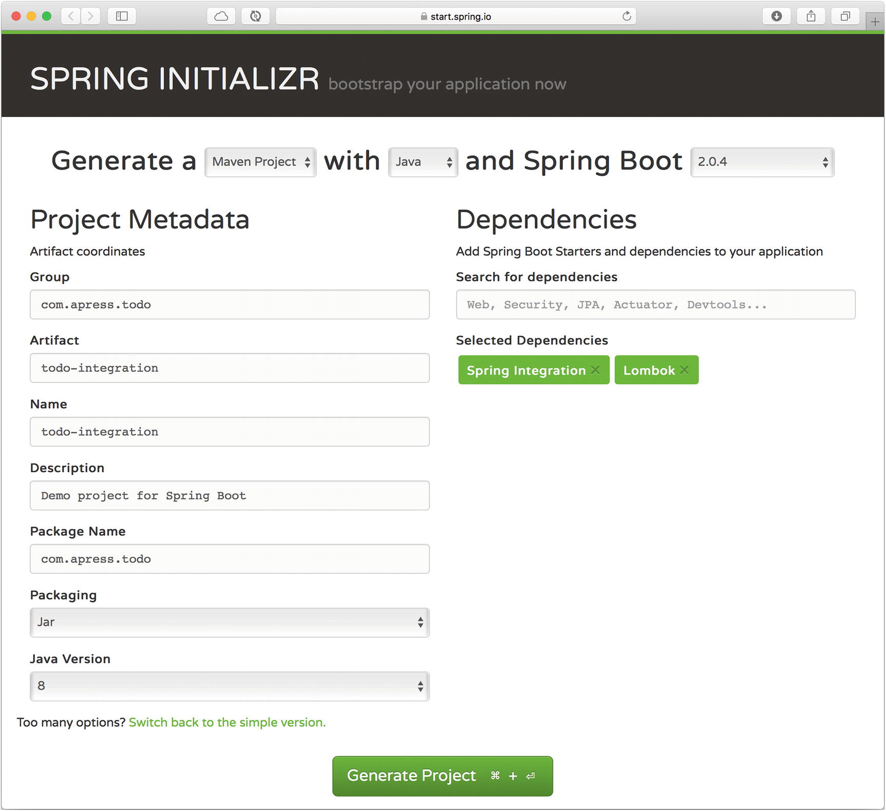 Spring Integration and Spring Cloud Stream with Spring Boot