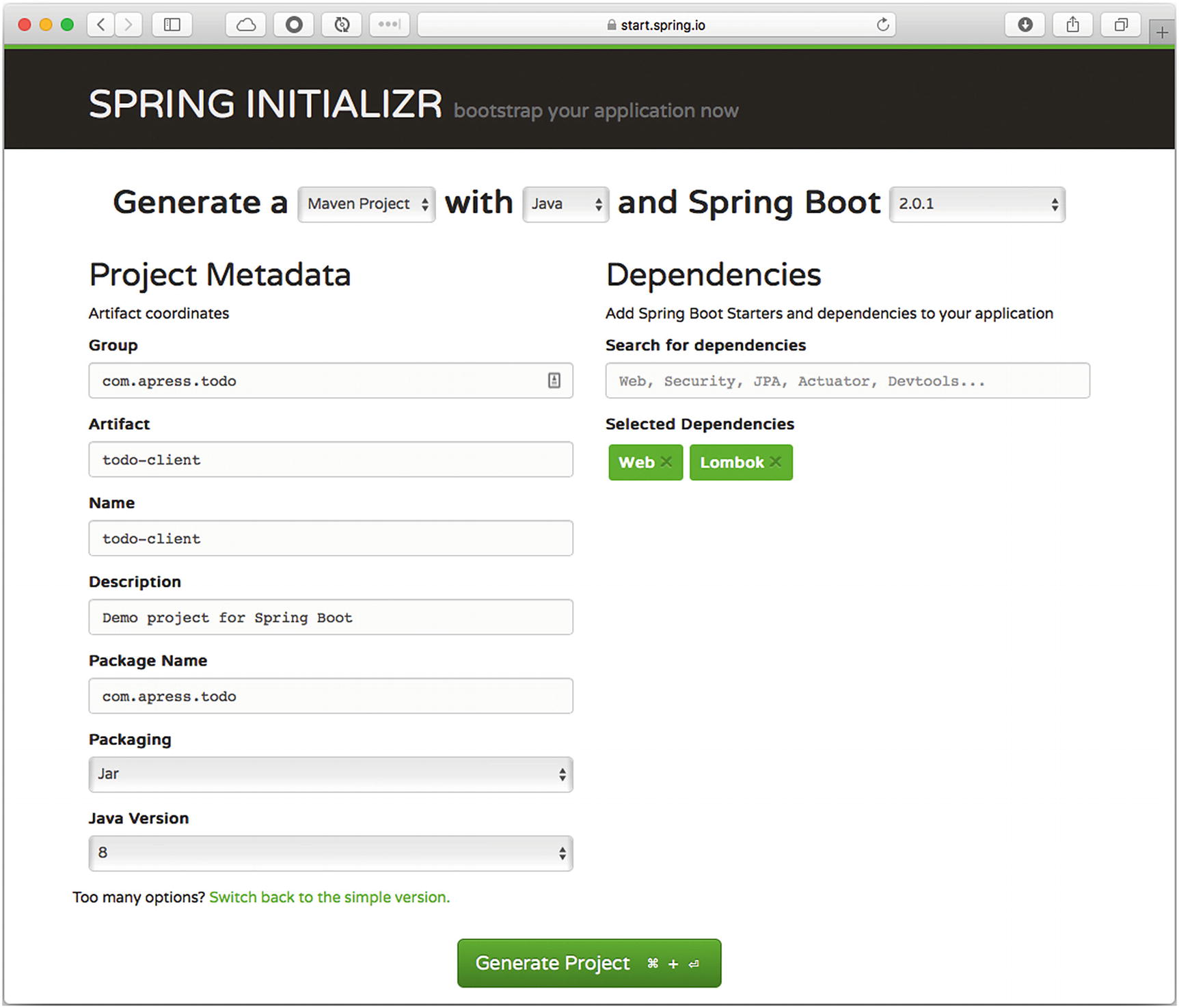 Web Applications with Spring Boot | SpringerLink