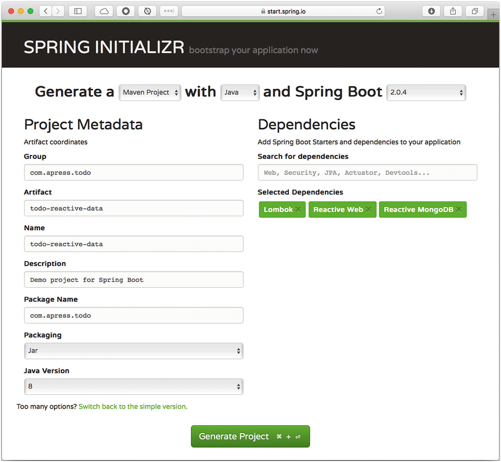 WebFlux and Reactive Data with Spring Boot | SpringerLink