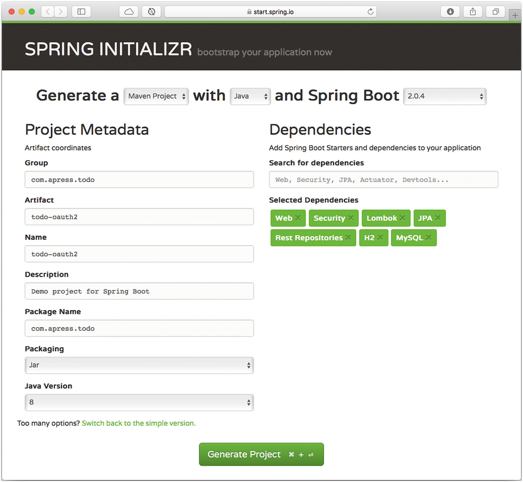 Security with Spring Boot | SpringerLink