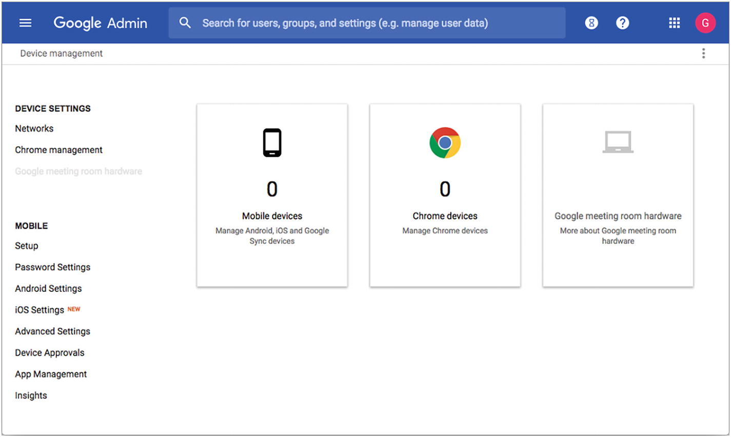 Configuring and Managing Chromebooks via Policy | SpringerLink