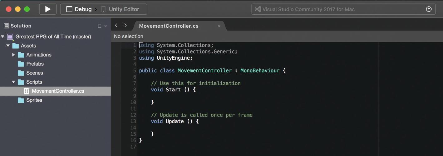 Unity move sprite with script