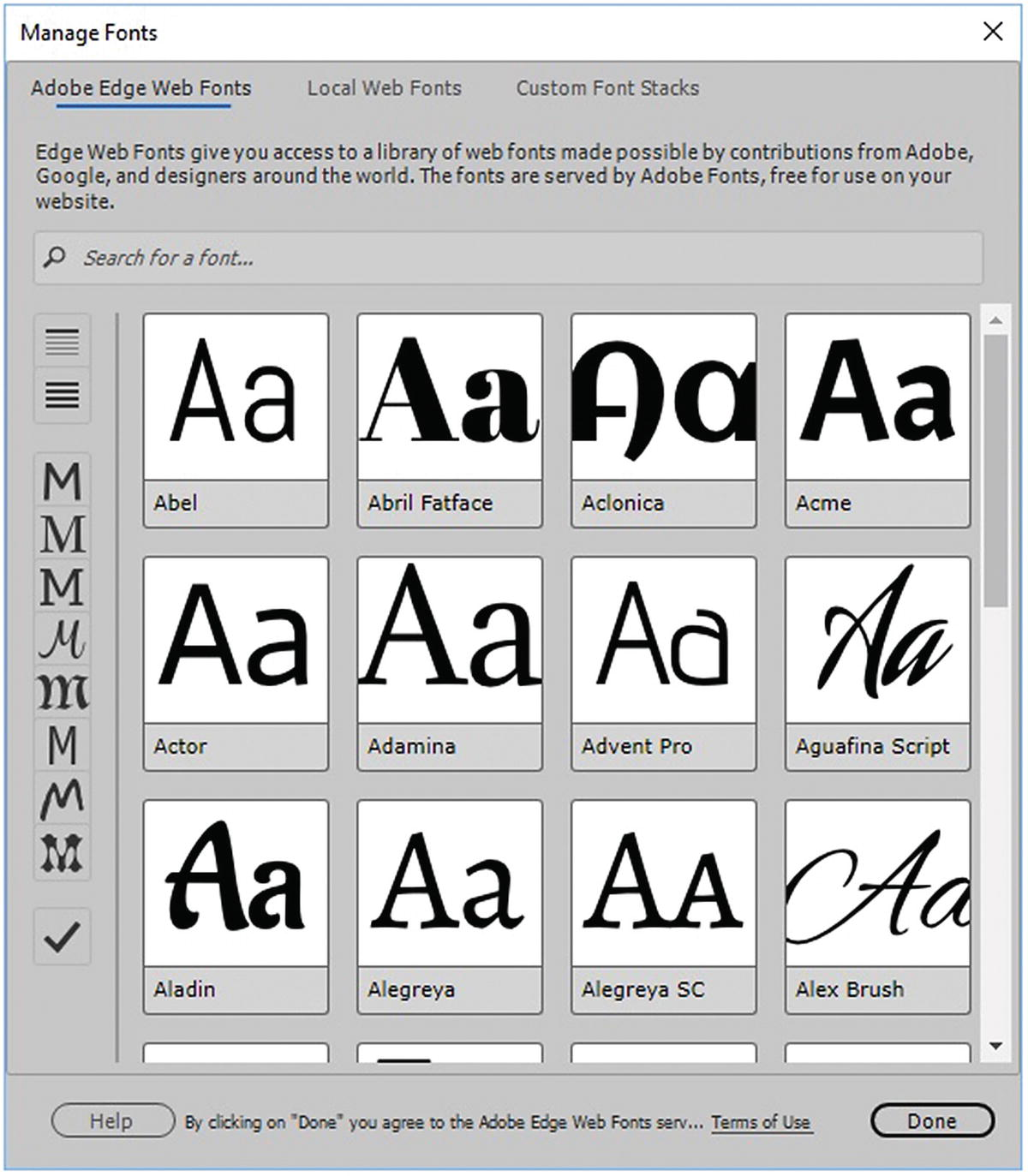 Additional Options to Apply Images in Dreamweaver | SpringerLink