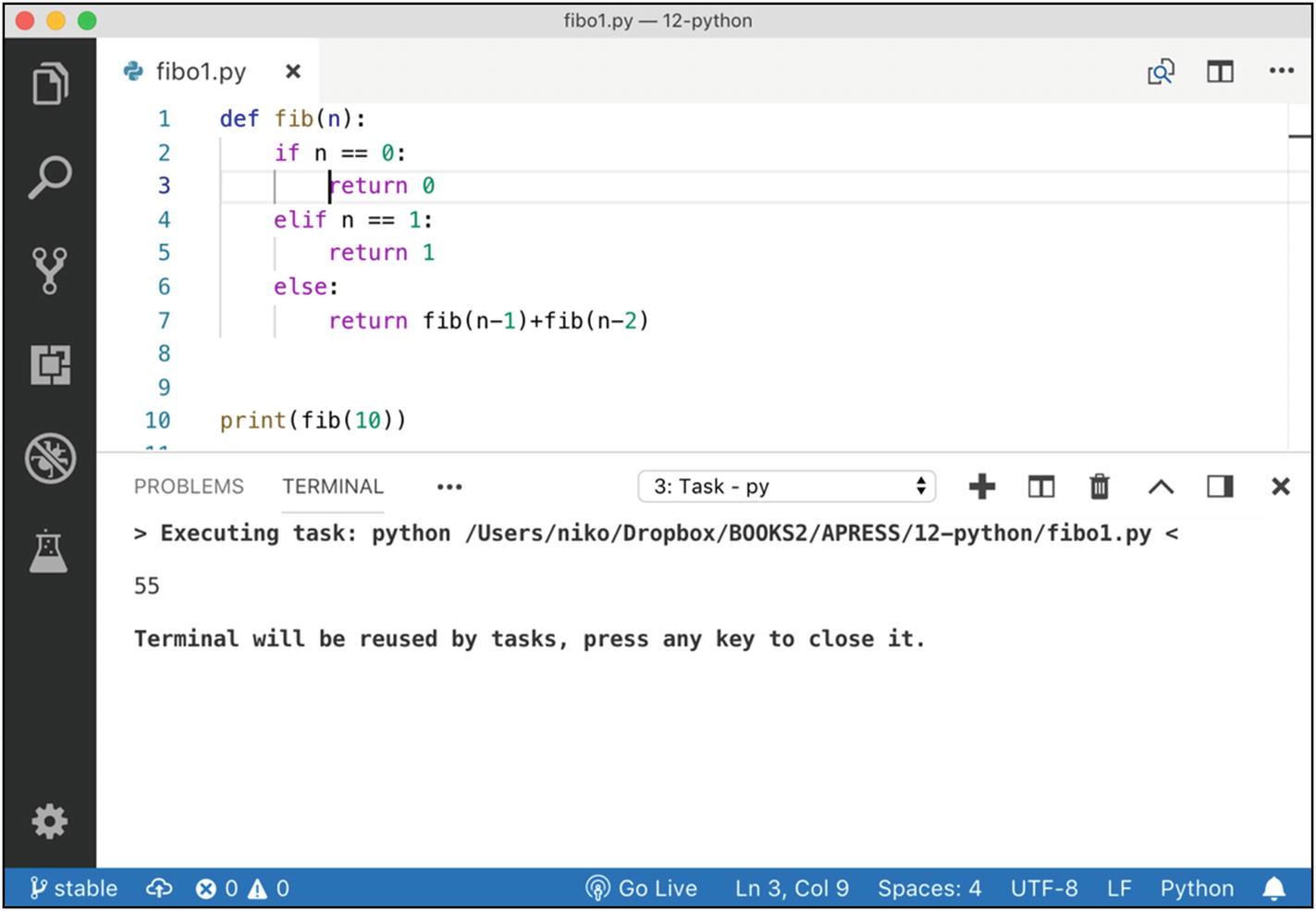 Week 12: Python   SpringerLink
