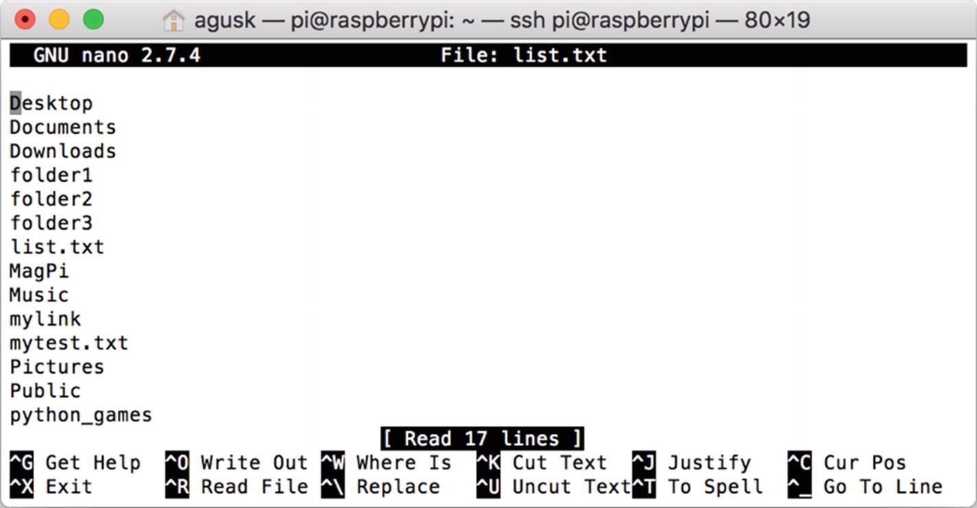 The Raspbian OS Command Line | SpringerLink