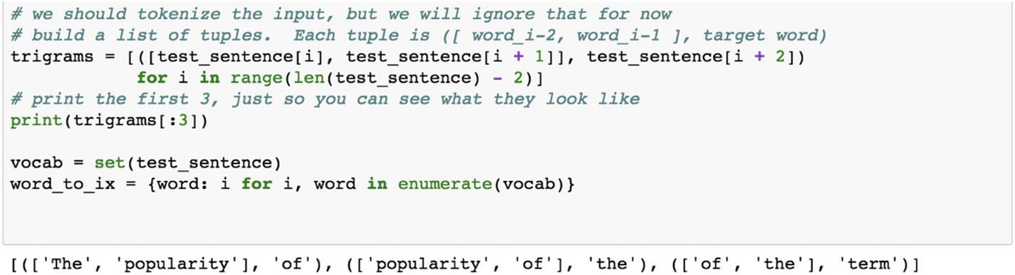 Natural Language Processing Using PyTorch | SpringerLink