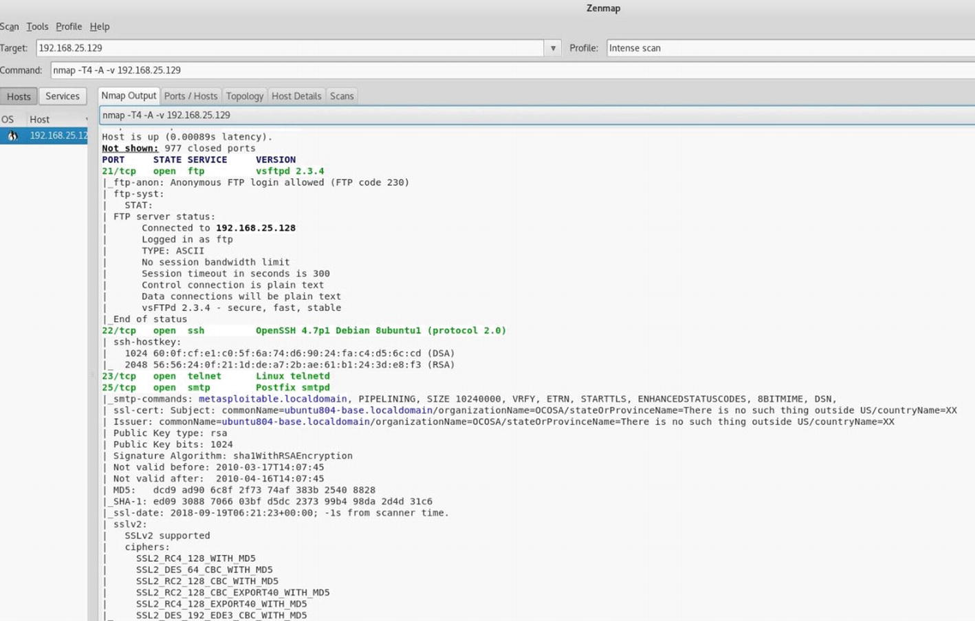 Introduction to NMAP | SpringerLink
