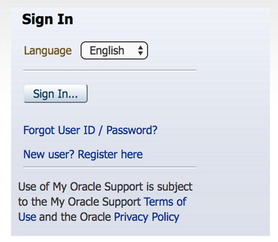 My Oracle Support | SpringerLink