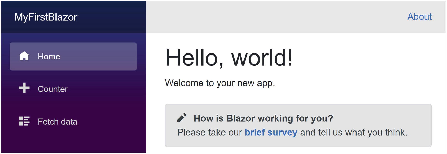 Your First Blazor Project   SpringerLink