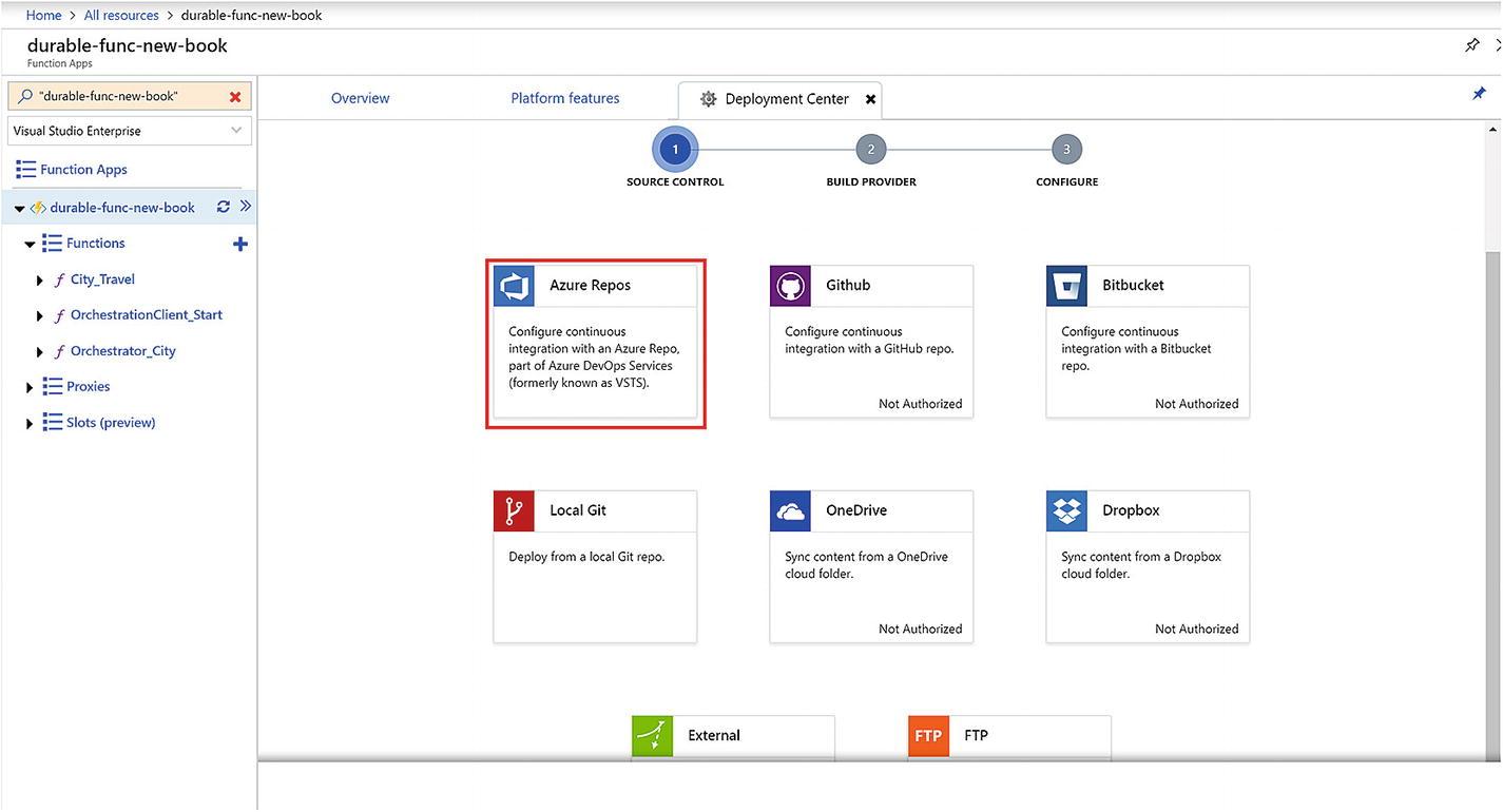 Deploying Functions to Azure | SpringerLink