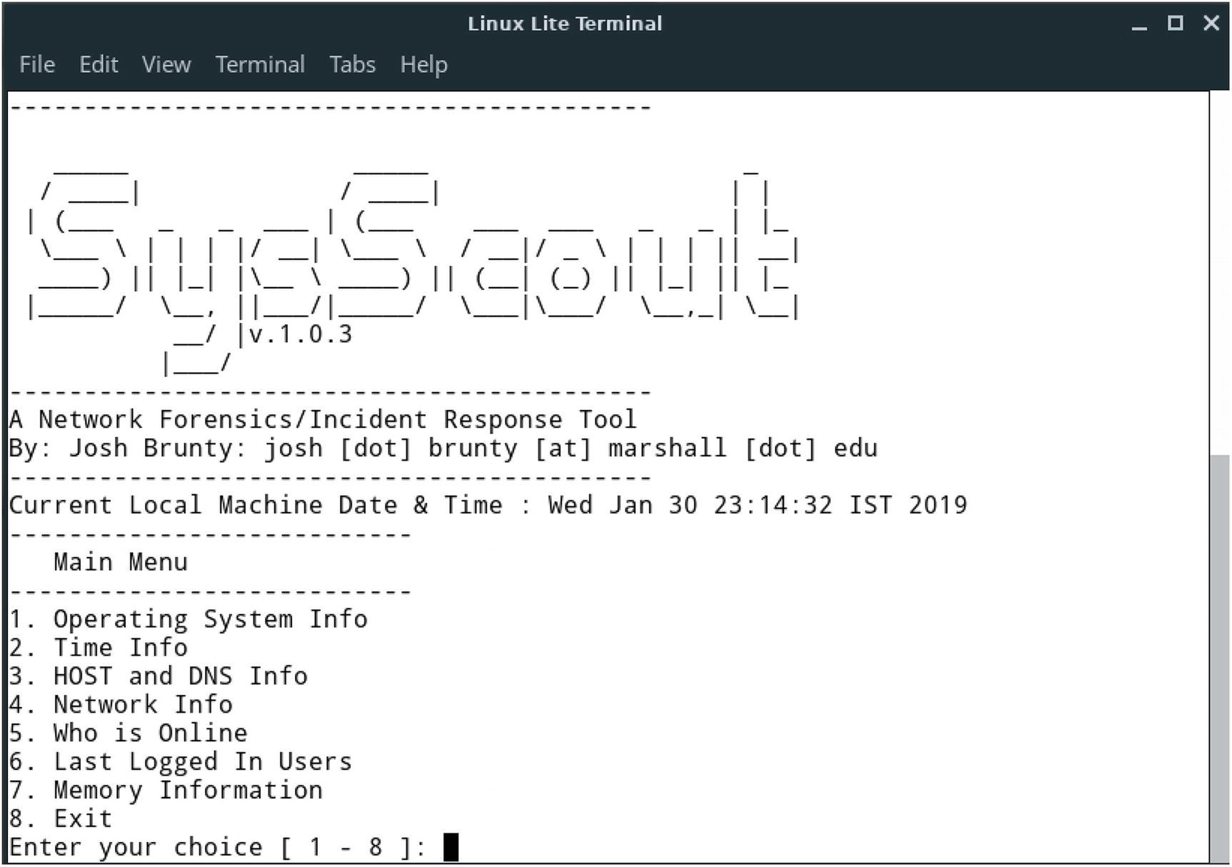 Linux Forensics | SpringerLink