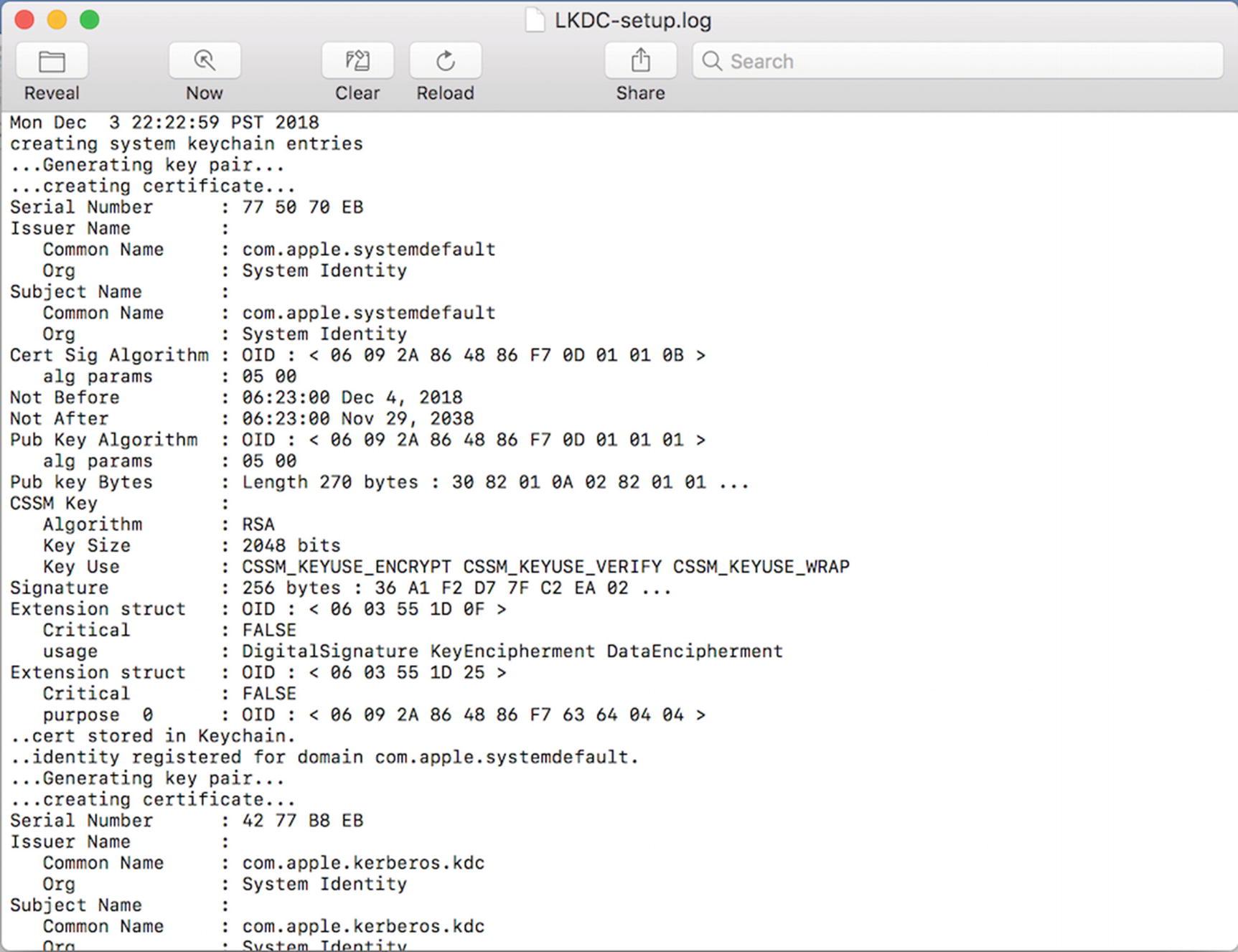 Mac OS Forensics | SpringerLink