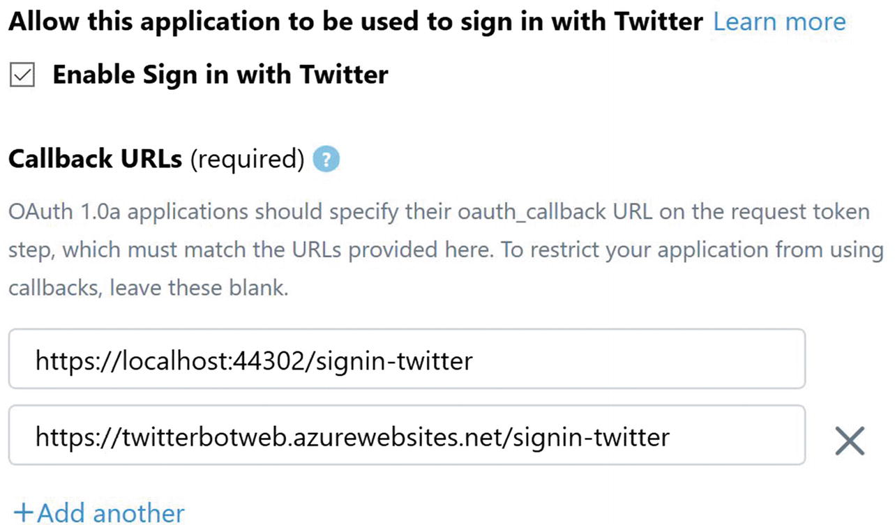 Designing and Developing the Twitter Bot Web Application