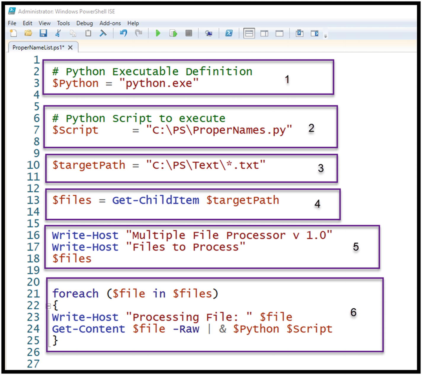 Launching Python from PowerShell | SpringerLink